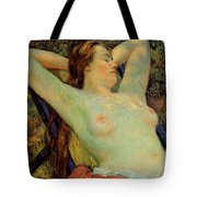 The Model's Siesta Tote Bag