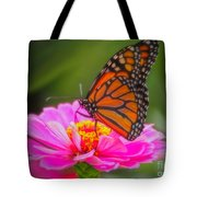 The Monarch's Flower Tote Bag