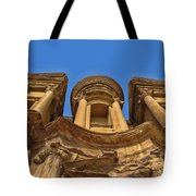 The Monastery In Petra Tote Bag