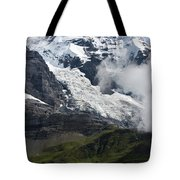 The Monk - Swiss Bernese Alps Tote Bag