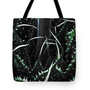 The Monster Is Impaled  Tote Bag