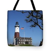 The Montauk Point Lighthouse Tote Bag