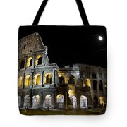 The Moon Above The Colosseum No1 Tote Bag