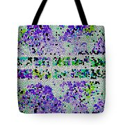 The Moon Abstract Tote Bag