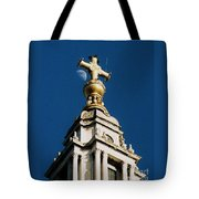 The Moon And St Paul's   Tote Bag