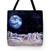 The Moon Rocks Tote Bag by Jack Skinner