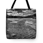 The Moose River At The Green Bridge II Tote Bag