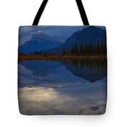 The Morning Blues Tote Bag