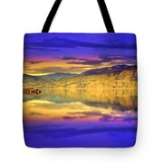 The Morning Glow Tote Bag