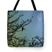 The Morning Moon Tote Bag