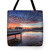 The Morning Sky Tote Bag