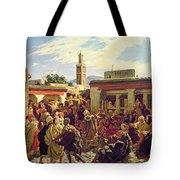The Moroccan Storyteller Tote Bag