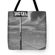The Motel Bw Palm Springs Tote Bag