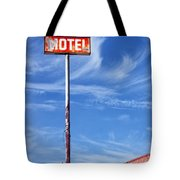 The Motel Palm Springs Desert Hot Springs Tote Bag
