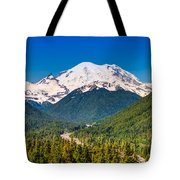 The Mountain And The Valley Tote Bag