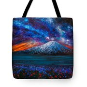 The Mountain Of Memories Tote Bag