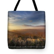 The Mountains Of Brasstown Bald Tote Bag