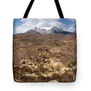 The Munro Of Sgurr Nan Fhir Duibhe Tote Bag