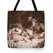 The Murder Of The Princes In The Tower Tote Bag