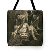 The Murder Of The Two Princes Tote Bag