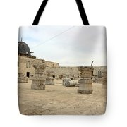 The Museum At Dome Of The Rock Tote Bag