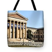 The Museum Of Art In Philadelphia Tote Bag