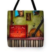 The Music Box Edit 3 Tote Bag