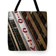 The Music Hall Tote Bag