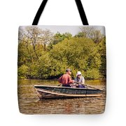 The Music Never Ends - Central Park Pond - Nyc Tote Bag