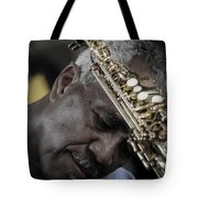 The Musicians Humble Bow To Applause  Tote Bag