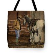 The Mustang Whisperer Tote Bag