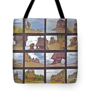 The Mystery Of Tides Photo Assemblage Tote Bag