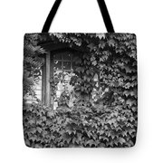 The Mystery Within - Black And White Tote Bag