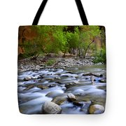 The Narrows A Place To Pause Tote Bag