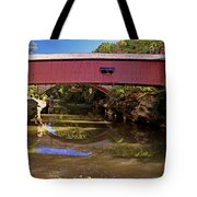 The Narrows Covered Bridge 1 Tote Bag