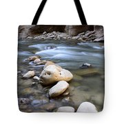 The Narrows One Step At A Time Tote Bag