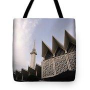The National Mosque Kuala Lumpur Tote Bag