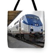 The National Railroad Passenger Corp Amtrak Tote Bag