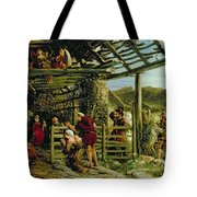 The Nativity Tote Bag by William Bell Scott