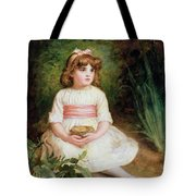 The Nest Oil On Canvas Tote Bag