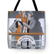 The New Holiday, Vintage Travel Poster Tote Bag