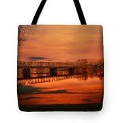 The New Hope Bridge Tote Bag