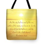 The New Jerusalem Tote Bag