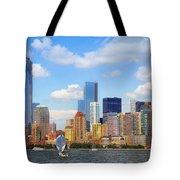 The New New York Skyline Tote Bag