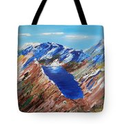The New Zealand Alps Tote Bag
