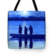 The Night Fishermen Tote Bag