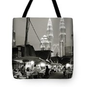 The Night Market Tote Bag