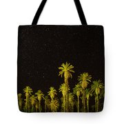 The Night Sky Over Death Valley Tote Bag