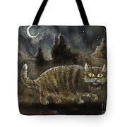 The Night Stalker Tote Bag