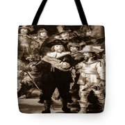 The Night Watch By Rembrandt Tote Bag